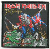 Iron Maiden - 'The Trooper' Woven Patch